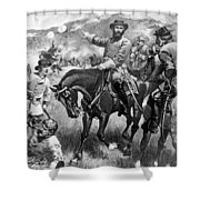 Longstreet At Gettysburg Shower Curtain