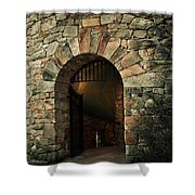 Longwood Bell Tower Shower Curtain