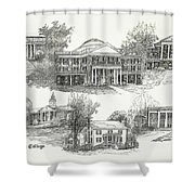 Longwood College Shower Curtain