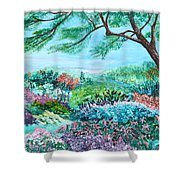 Longwood Gardens Shower Curtain