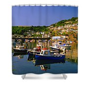 Looe River Shower Curtain