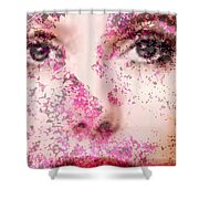Look Into My Heart Shower Curtain