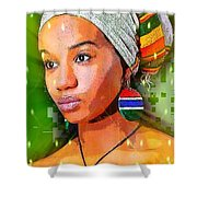 Look Of Hope Shower Curtain
