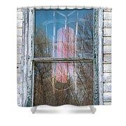 Look Through My Window II Shower Curtain