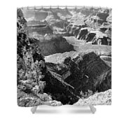 Looking Down On Grand Canyon Shower Curtain