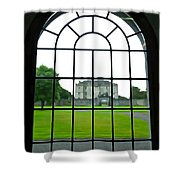 Looking At Portumna Castle Shower Curtain