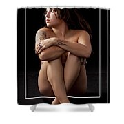 Looking At The Light 1059.02 Shower Curtain
