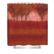 Looking At The World Through Rose Colored Lenses Shower Curtain