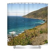 Looking Back At Pch Shower Curtain