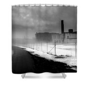 Looking Back At Time Shower Curtain by Bob Orsillo