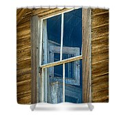 Looking Back In Time Shower Curtain