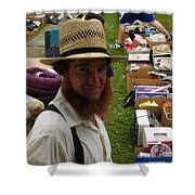 Amish In The City Shower Curtain