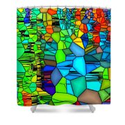 Looking Glass 1 Shower Curtain