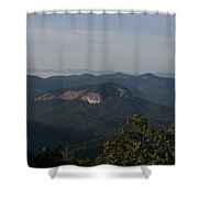 Looking Glass Mountain Shower Curtain