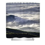 Looking Glass Rock Shower Curtain