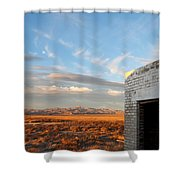 Looking Northward Shower Curtain
