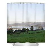 Looking Over Lough Eske - Donegal Ireland Shower Curtain