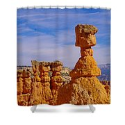 Looking Over Sunset Point  Shower Curtain