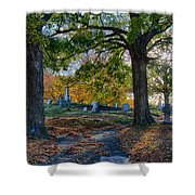 Looking Over The Hill Shower Curtain