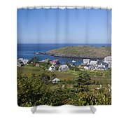 Looking To Port Shower Curtain