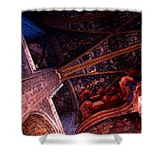 Looking Up Albi Cathedral Shower Curtain