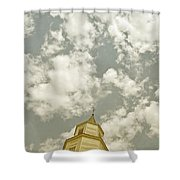 Looking Up At Heaven Shower Curtain