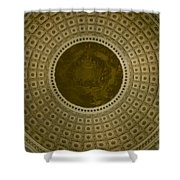 Looking Up Capitol Dome Shower Curtain