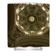Looking Up Salsburg Shower Curtain