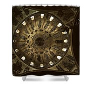Looking Up St Mark's 2 Shower Curtain