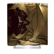 Looking Up Toulouse Cathedral Shower Curtain