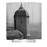 Lookout Tower Shower Curtain