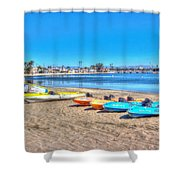 Looks And Feels Like Summer Shower Curtain by Heidi Smith