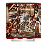 Loom Shower Curtain