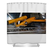 Loon Missile Shower Curtain
