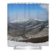 Loon Mountain Ski Resort White Mountains Lincoln Nh Shower Curtain