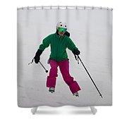 Loon Run 22 Shower Curtain