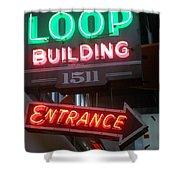 Loop Building 1511 Shower Curtain