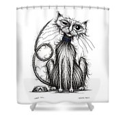 Loop Tail Shower Curtain