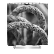 Loops Shower Curtain