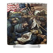 Lopez Colonel Shaw, 1943 Shower Curtain