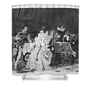Lord Darnley/mary Stuart Shower Curtain
