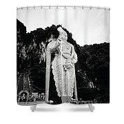 Lord Muruga Shower Curtain