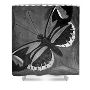 Lord Of The Butterfly Shower Curtain