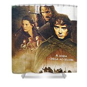 Lord Of The Rings Shower Curtain