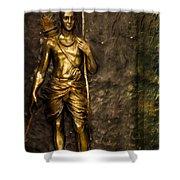 Lord Sri Ram Shower Curtain