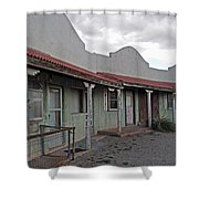Lordsburg Nm Hotel 1 Shower Curtain