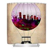 Miami Air Balloon 1 Shower Curtain