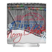Los Angeles Clippers Shower Curtain