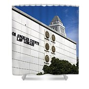 Los Angeles County Law Library Shower Curtain