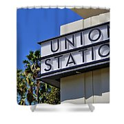 Los Angeles Union Station Shower Curtain